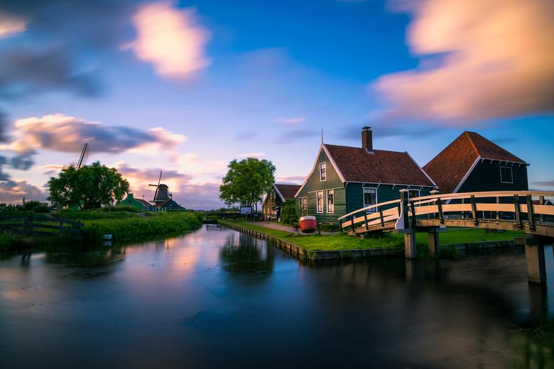 Sunset in Zaanse Schans