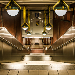 metrostation in Berlijn halte Wittenau