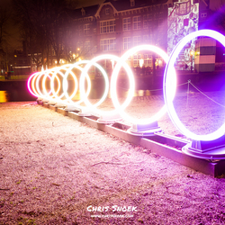 Bands of friendship - Amsterdam Light Festival 2016