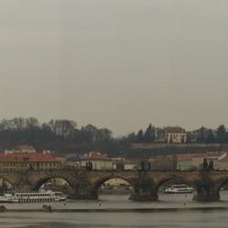 Panorama van burcht Praag