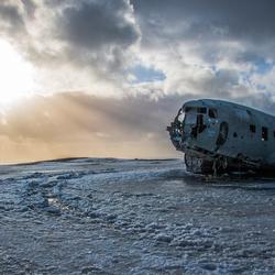 Wrak DC3-6656 op Ijsland