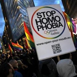 stop homo phobia
