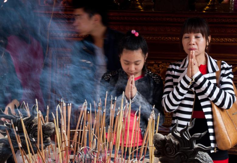 Sfeer - De sfeer van de tempels zorgen voor een mooie sfeer