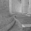 Oneindige kolommen van het Sint Pieter plein Vaticaan