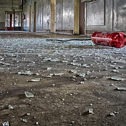 Urbex verlaten fabriek 3