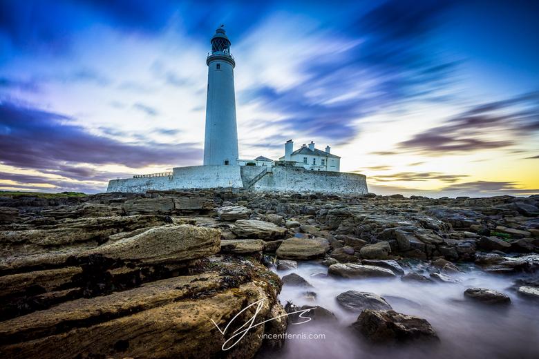 St. Mary's Lighthouse - Dit keer was ik voor werk in Newcastle, UK waarbij ik natuurlijk van de gelegenheid gebruikt heb gemaakt om er 's avond o
