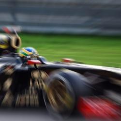 Senna at Spa