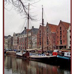 Het hoge der Aa in Groningen