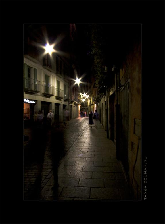 On the street - Girona... genieten...<br /> <br />