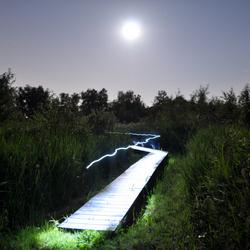 Het pad van de verlichting.
