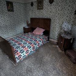 Nostalgische slaapkamer