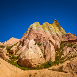 Cappadocia Colored Mountain