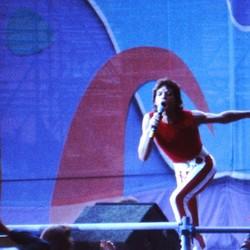 Mick Jagger in Keulen in 1982