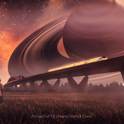 If Saturn flew past the Earth.