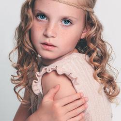 Romantisch kinderportret