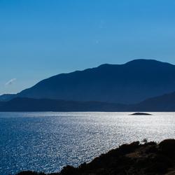 Kreta in het ochtendlicht