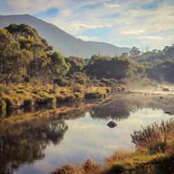 Australie, ochtendwandeling