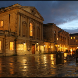 Bath (UK) by night
