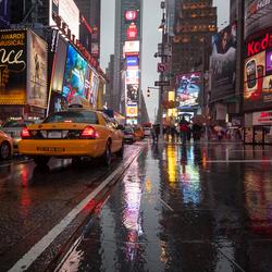 Verregend New York City