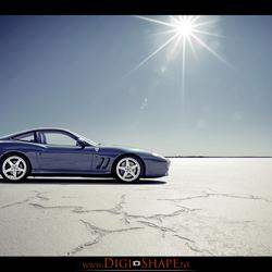 Ferrari 575 zoutvlakte