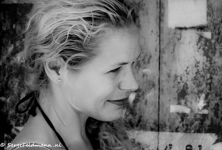 Nadia was ook mee - In alle portretten van Sri Lankezen zou je het haast vergeten maar Nadia was ook mee. Nog steeds een van mijn meest favoriete foto