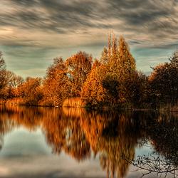 herfst, ook op het water