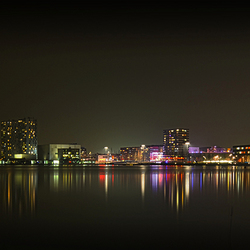 Skyline Almere @ night