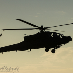 Apache during sunset