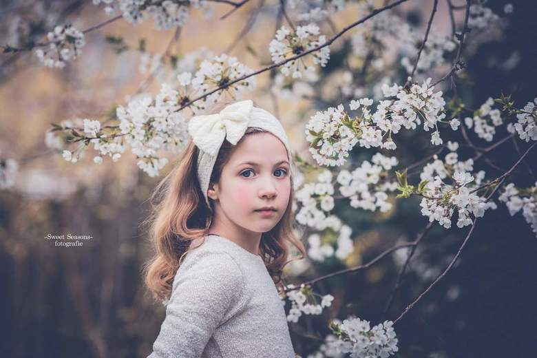 White flowers -