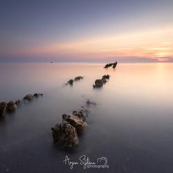 Lijnen aan het IJsselmeer