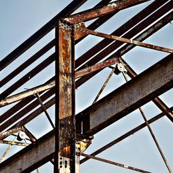 detail dakspanten oude Stork Hengelo O