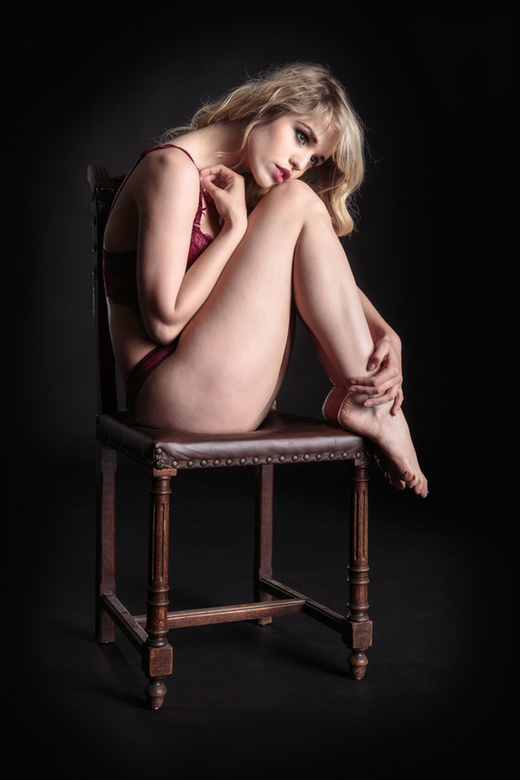 antique chair - model Angel