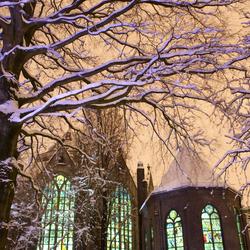 Sint-Jan in the night, 'Gouda bij Kunstlicht'