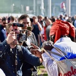 Intervieuw AD met Feyenoord fan Hofplein