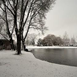Winter zondag.