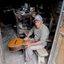 Colombia,gitaarbouwer