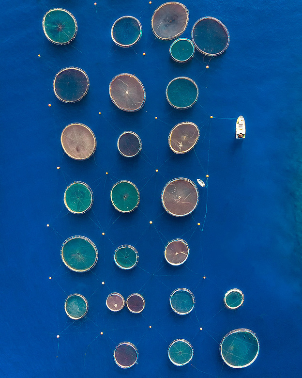 Aquacultuur - Aquacultuur van bovenaf