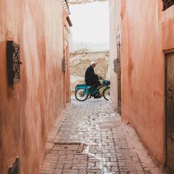 De medina van Marrakech