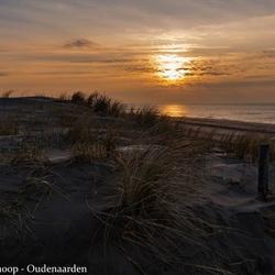 Zonsondergang in Petten aan Zee