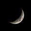 Maan bij nacht