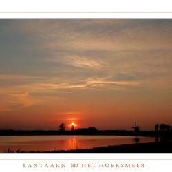 lantaarn aan bij het Hoeksmeer