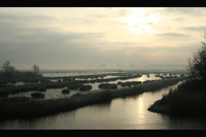 Winter waterland - Waterland, Noord-Holland.