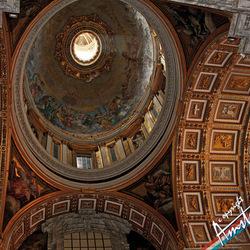 Muurschilderingen in het Vaticaan van Rome