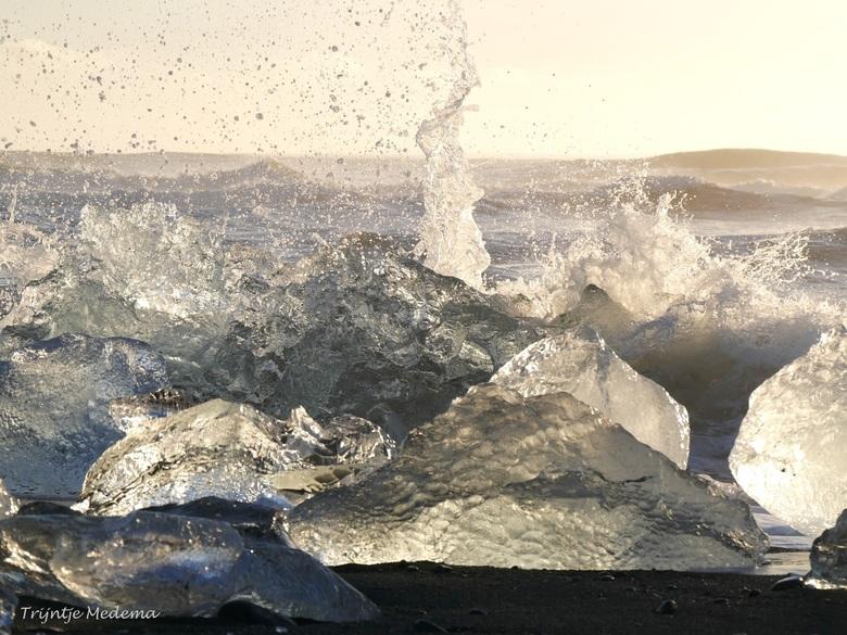 Jökulsárlón - Het ijsschotsenmeer op IJsland - of wel: <br /> Jökulsárlón - een geweldige plek om te fotograferen
