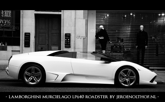Lamborghini Murcielago LP640 Roadster - Schitterende auto uit het emiraat Ras Al Khaimah in de Verenigde Arabische Emiraten.