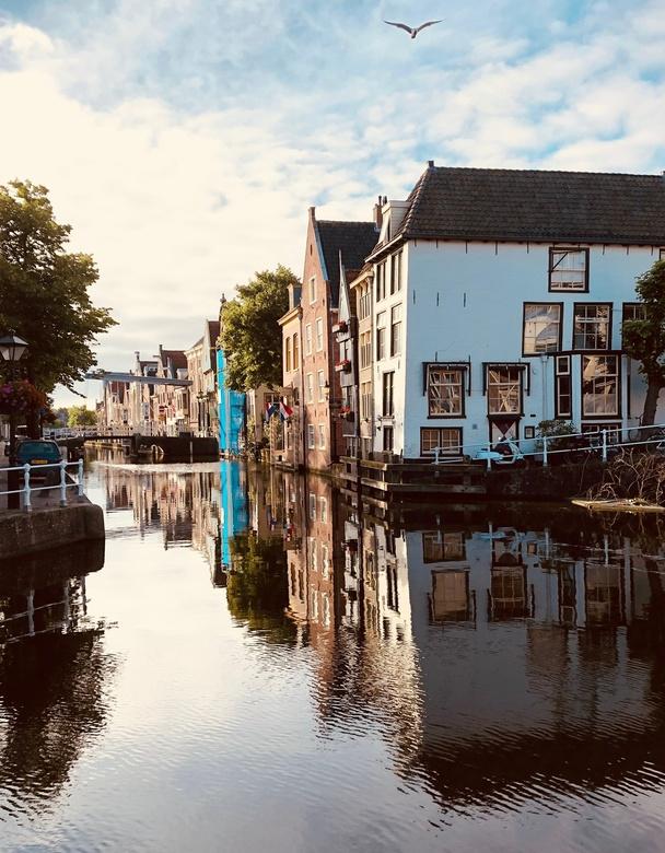 Zon Op Alkmaar - Vroege wandeling door Allmaar levert leuke stillevens.