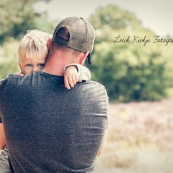 a DAD is a son's first HERO