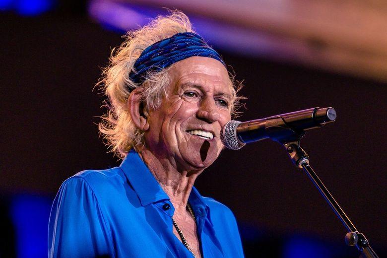 Portrait of Keith Richards -