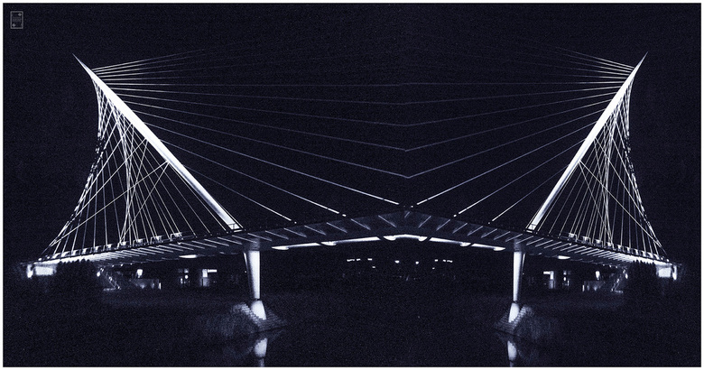 Haarlemmermeer - avondfoto met de hand
