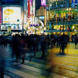 Tokyo, met z'n allen oversteken